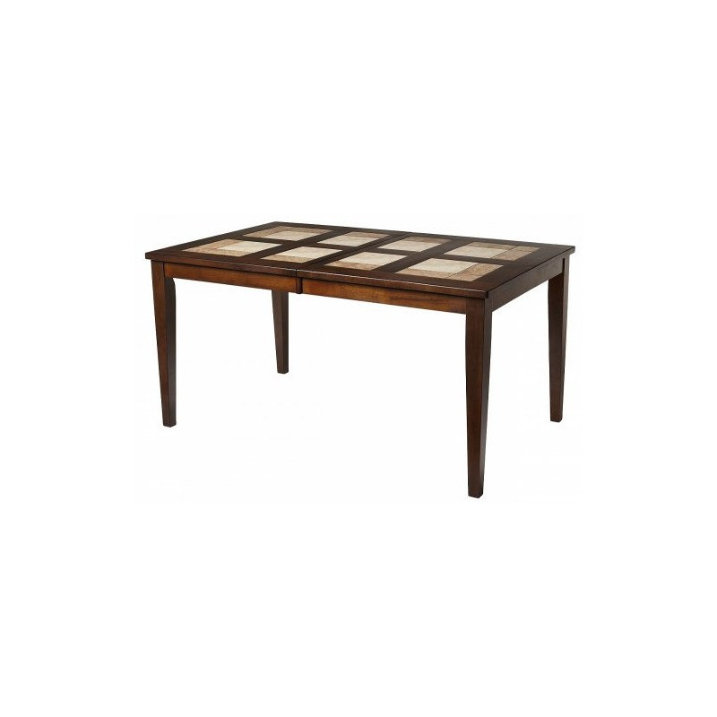 Стол LT T13271 HONEY OAK #K115/ плитка 2 тона Cosmo, Antige Leather М-City