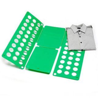 Рамка для складывания взрослой одежды Clothes Folder (Клозес Фолдер), Цвет: Зелёный