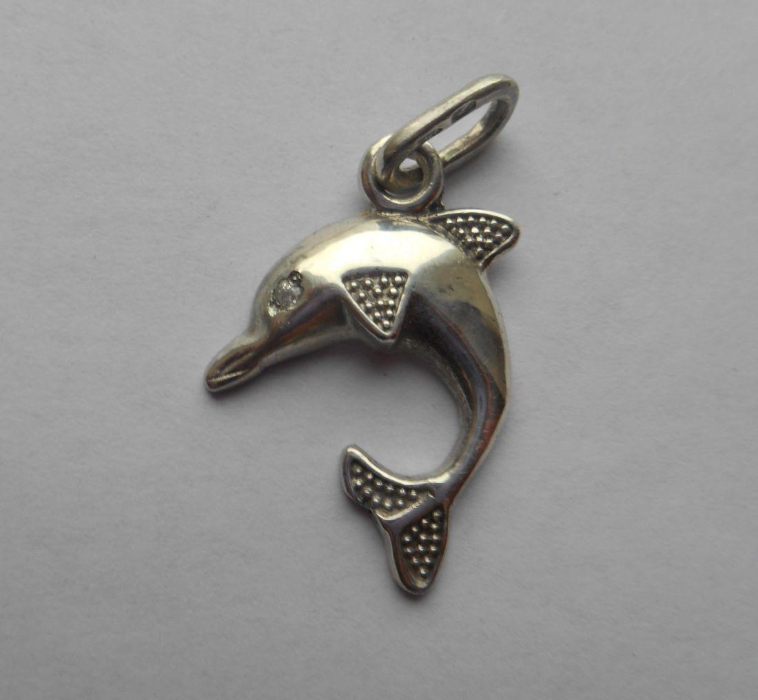 """Кулон """"Дельфин"""" (серебро 925)"""