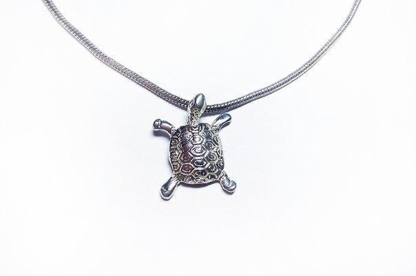 """Кулон """"Черепаха"""" (серебро 925)"""
