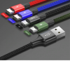 Кабель Baseus 4 в 1 USB - 2хType-C/Micro USB/Lighting
