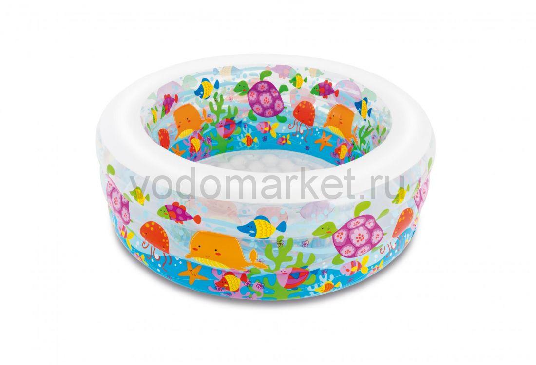 """Детский бассейн надувной """"Aquarium"""" 152х56 см (intex 58480)"""