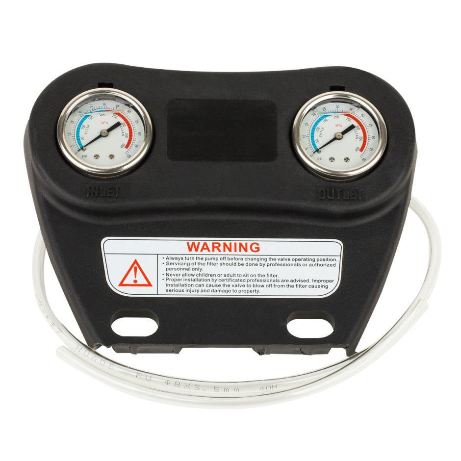 Манометр сдвоенный для фильтров L 1200-1600 Aquaviva 89012801