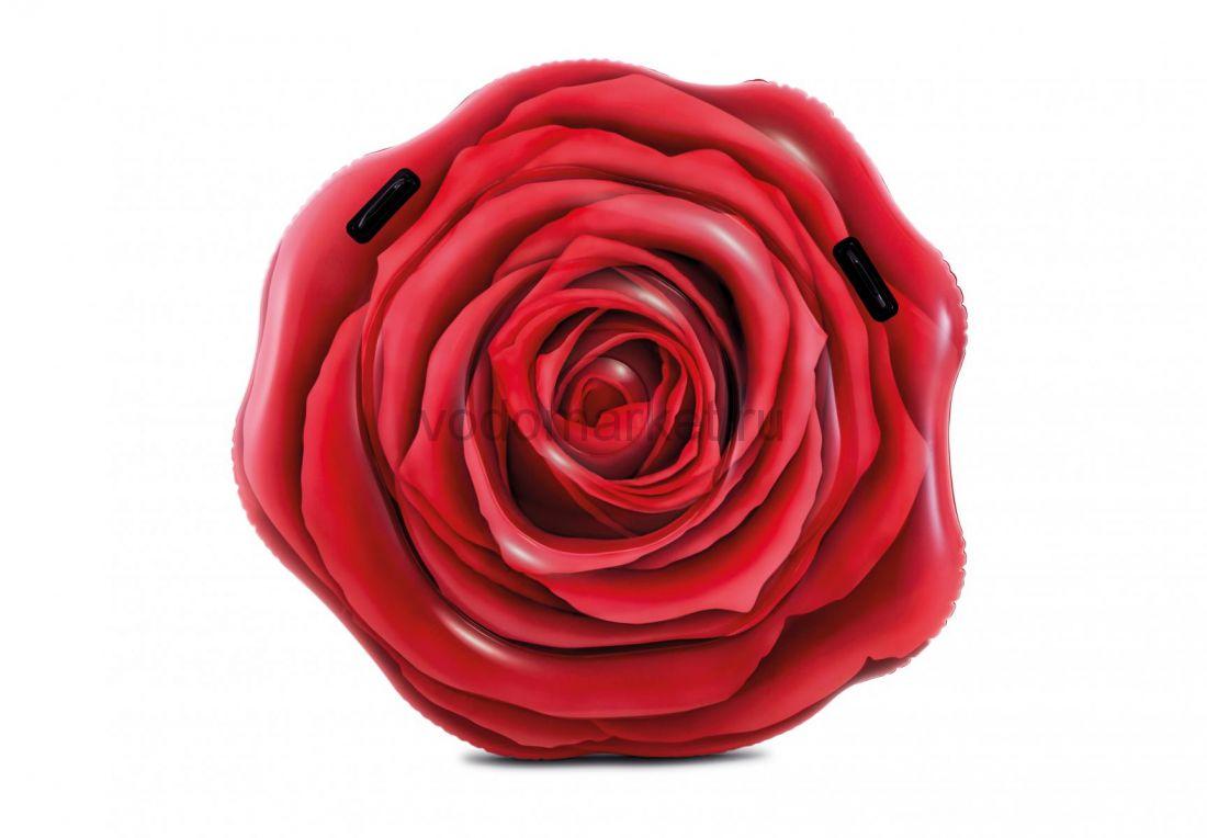 Надувной матрас-плот Красная роза Intex (58783)