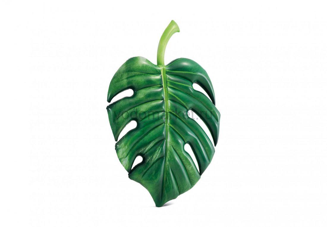 Надувной матрас-плот Пальмовый лист Intex (58782)